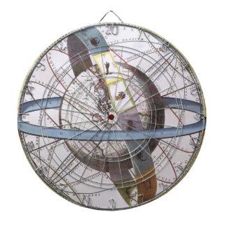 Vintage Astronomy, Celestial Planisphere Zodiac Dartboard