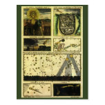 Vintage Astronomy, Celestial Stars, Stella Magorum Postcards