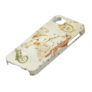 Vintage Astronomy, Constellations Stars Chart Map iPhone 5 Cover