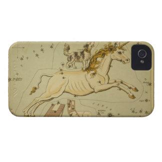 Vintage astronomy iPhone 4S case Monoceros unicorn
