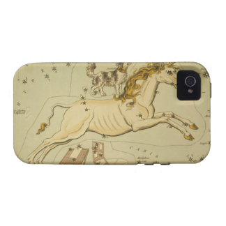 Vintage astronomy iPhone 4S case Monoceros unicorn Case-Mate iPhone 4 Covers