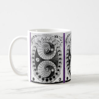 Vintage Astronomy  Kircher Lunation Coffee Mug