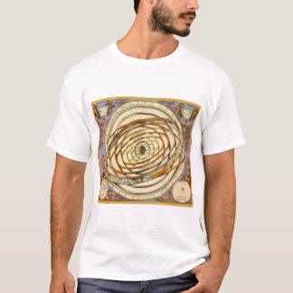 Vintage Astronomy Planets Orbit, Andreas Cellarius T-Shirt