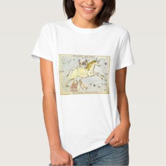 Vintage Astronomy, Unicorn Monoceros Constellation Shirt
