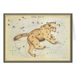 Vintage Astronomy, Ursa Major Constellation, Bear