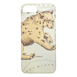 Vintage Astronomy, Ursa Major Constellation, Bear iPhone 7 Case