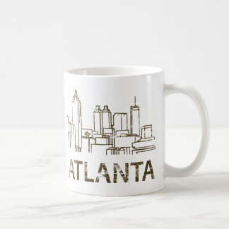 Vintage Atlanta Coffee Mug