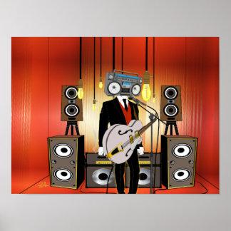 Vintage Audiophile Poster