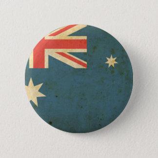 Vintage Australia Flag 6 Cm Round Badge