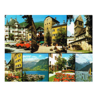 Vintage Austria, Berstadt, Zell am Zee, Salzburg Postcard