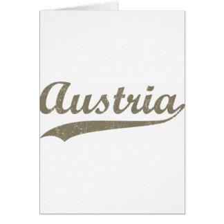 Vintage Austria Greeting Cards