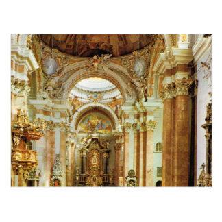 Vintage Austria, Innsbruck, St Jacob Domkirche Postcard