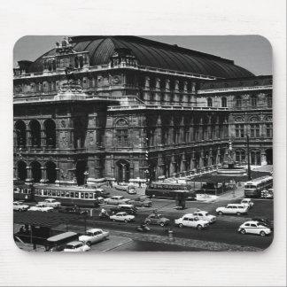 Vintage Austria Vienna Staatsoper opera Mouse Pad