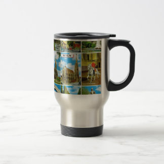 Vintage Austria, Wien, Vienna, Multiview Travel Mug