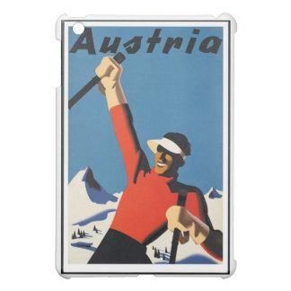 Vintage Austrian Travel Poster iPad Mini Cover