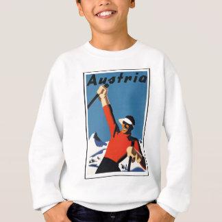 Vintage Austrian Travel Poster Sweatshirt