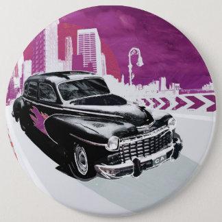 Vintage Auto 6 Cm Round Badge