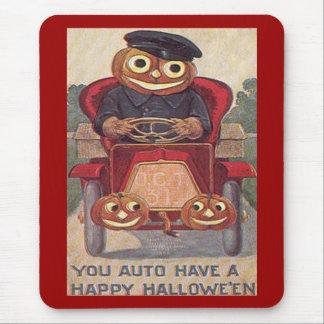 Vintage Auto Halloween Mousepad