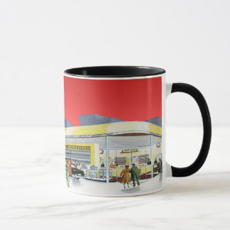 Vintage Auto Mechanics Complete Car Service Garage Mug