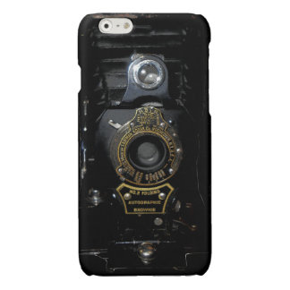 VINTAGE AUTOGRAPHIC BROWNIE FOLDING CAMERA GLOSSY iPhone 6 CASE