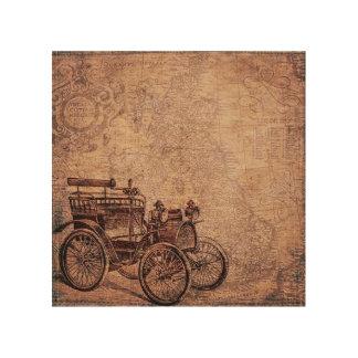 Vintage Automobile 2 Wood Art