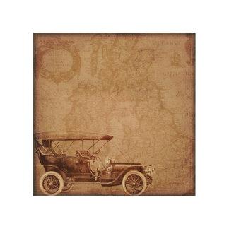 Vintage Automobile 3 Wood Art