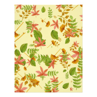 Vintage Autumn foliage Flyer