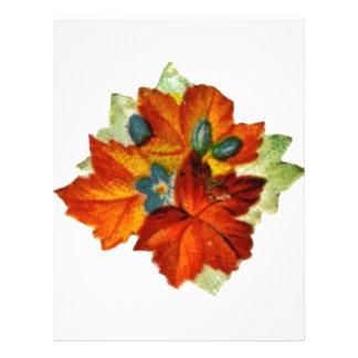 Vintage Autumn Leaves Fall Leaf Flyer