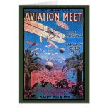 Vintage Aviation Meeting in Los Angeles Poster
