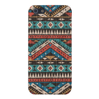 Vintage Aztec Pattern iPhone 5/5S Cases