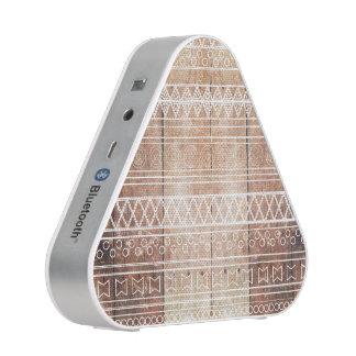 Vintage Aztec Tribal Wood Speaker