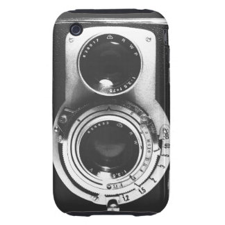 Vintage b&w Camera Tough iPhone 3 Case