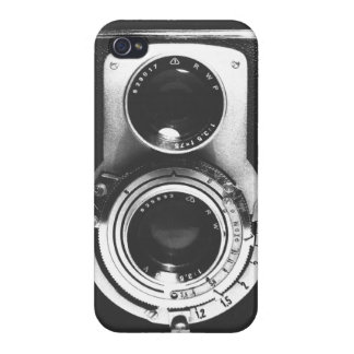 Vintage b&w Camera Cases For iPhone 4