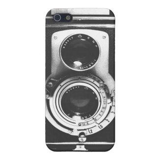 Vintage b&w Camera iPhone 5/5S Case