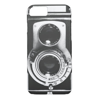 Vintage b&w Camera iPhone 7 Case
