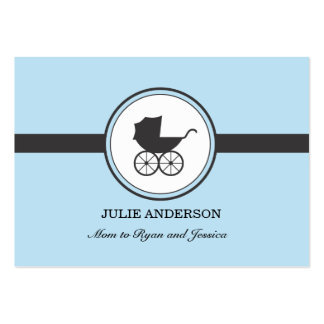 Vintage Baby Carriage Calling Card Business Cards