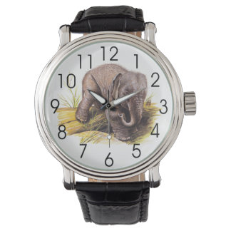 Vintage Baby Elephant Watch