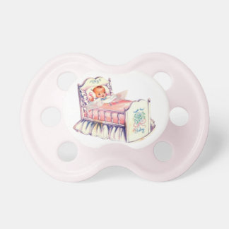 vintage baby pacifier