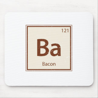 Vintage BACON Periodic Table Mouse Mat
