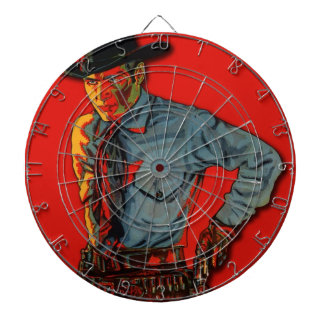 Vintage Bad Boy Dartboard