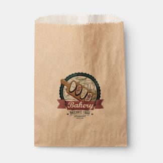Vintage baguette Favor Bag