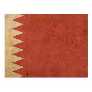 Vintage Bahrain Flag Postcard