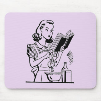 Vintage Baking Mom - Mothers Day Mouse Mat