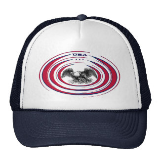 Vintage Bald Eagle Trucker Hat (Ver. 2.0)
