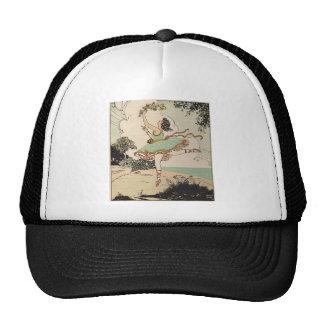 Vintage Ballerina Mesh Hats