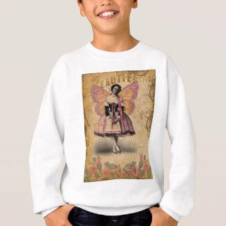 Vintage Ballerina on Ephemera background. Sweatshirt