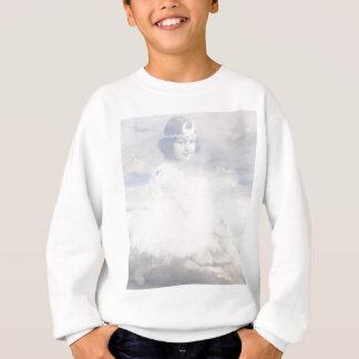 Vintage ballerina sweatshirt