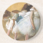 Vintage Ballet, Dance Examination by Edgar Degas Coasters