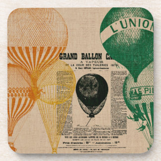 Vintage Balloons Coasters