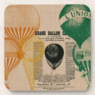 Vintage Balloons Coasters